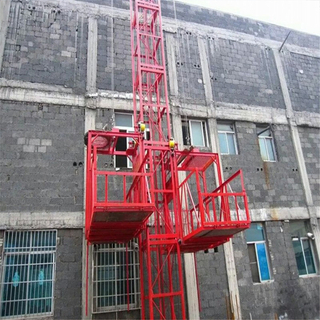 SS100/100 1ton Material Construction Hoist of Construction Elevator