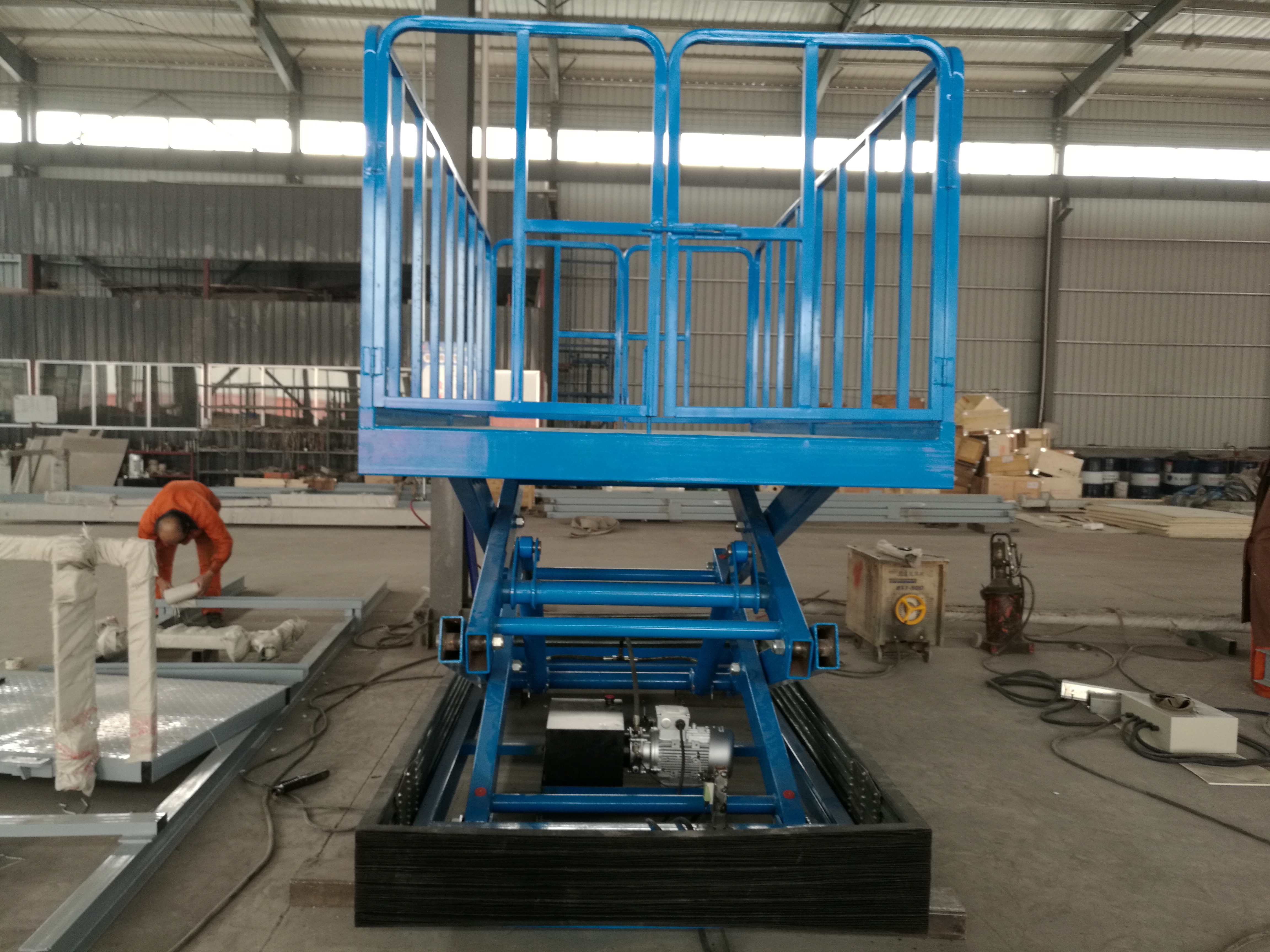 Tavol 1.5 Ton Stationary Scissor Lift in Sri Lanka