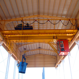 Tavol Brand QD Heavy Duty Model Double Girder Overhead Cranes Suitable in Busy And Heavy Duty Working Environment
