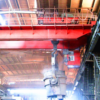 Heavy Duty Double Beam Bridge Cranes with Popular Model 50t, 75t, 100t, 150t, 200t