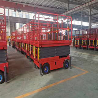 CE ISO 4-18m Hydraulic Electric Mobile Scissor Lift
