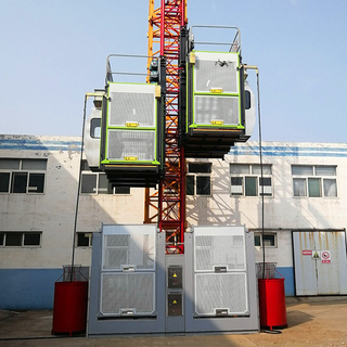 Building Construction Lift for Pessengers And Cargo Materials