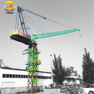 10ton Luffing Crane D125-5020 Tower Crane for Building