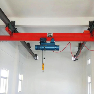 Underslung Running Single Girder Bridge Cranes