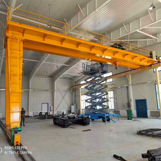BMG Model Electrical Double Semi Girder Gantry Crane